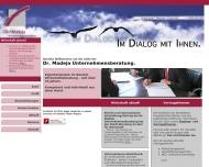 Dr. Madeja Unternehmensberatung - Wirtschaftsberatung - Consulting