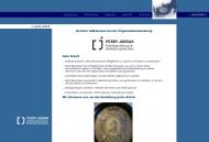 Bild Webseite PERRY JORDAN Arbeitsgestaltung & Betriebsorganisation Dresden