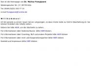 Bild Webseite Frangipane-Nikol Dr. Marisa Köln