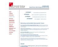 Bild Expertinnen-Beratungsnetz | Mentoring Arbeitsstelle der Universität Hamburg Berufliche Beratung für Frauen