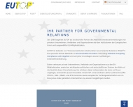 EUTOP Ihr Partner f?r Governmental Relations