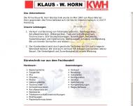 Bild Horn Klaus W.