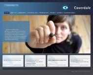 Bild Webseite Coverdale Team Management Deutschland München