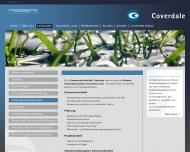 Website Coverdale Team Management Deutschland