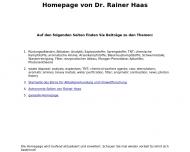 Bild Haas Dr. Rainer
