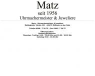 Bild Matz A. Uhrmachermeister