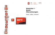 Bild Honecker u. Bootz Übersetzungen