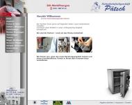 Website Sicherheitsfachgeschäft Pätsch