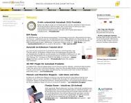 Bild Webseite acadgraph CAD STUDIO München