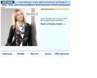 Bild Webseite Strunz in Zabo Nürnberg