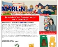 Bild Webseite Marlin Naturtextilien Aachen