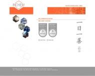 Bild Webseite INCHEM Chemiehandel Köln