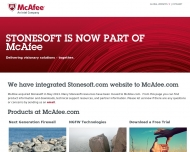 McAfee Stonesoft is now part of McAfee