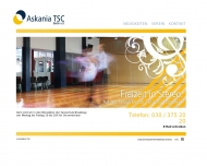 Bild Webseite Askania TSC Berlin Berlin