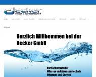 Bild Decker GmbH Abwassertechnik