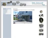 Bild Grieswald Gebr. GmbH & Co. KG CNC-Komplettbearbeitung