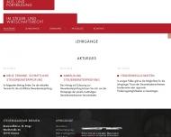 Bild Webseite Steuerakademie Bremen Bremen