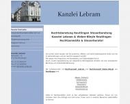anwaltskanzlei - Kanzlei Lebram Reutlingen 07121-493037 Zivilrecht Verkehrsrecht Vertragsrecht Steue...