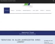 Bild Webseite Steuerberater Trust Heinrich Dipl.-Betr.Wirt Frankenberg (Eder)