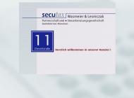 Bild Webseite secutax Wasmeier & Lesniczak Partnerschaft Steuerberatungsgesellschaft Karlsfeld