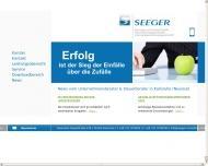 Bild Seeger Beratungs und Treuhand GmbH, Steuer- Unternehmensberatungsgesellsch.