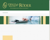 Bild Kanzlei Walter u. Dr. Ewald Röder Steuerberater u. Rechtsanwalt