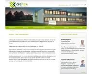 Bild Webseite dreitax Steuerberatungsgesellschaft Spangenberg