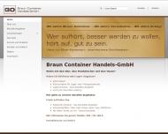 Bild Braun Container Handels-GmbH