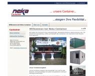Bild NeKa Container Handels GmbH