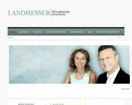 Bild Webseite Landmesser Matthias München