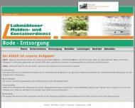 Bild Webseite  Hamburg