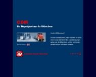 Bild Webseite Container Depot München Unterföhring