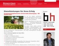 Bild Webseite Birmann & Haum Containervermietung München