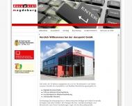 Bild Webseite docupoint Magdeburg