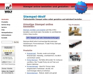 Website Stempel-Wolf