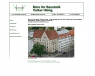 BAUSTATIK H?NIG - Dresden - Baustatiken, Ingenieurb?ros, Statiken