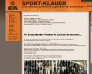 Bild Klauer Harald Sport Sportartikelverkauf