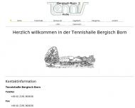 Bild Tennishalle Bergisch Born
