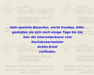 Website Achim Ernst