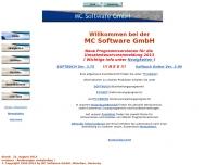 Bild Webseite MC Software München