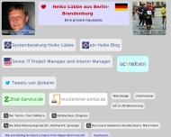 Bild Webseite Lübbe Heiko Berlin