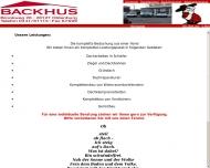 Bild Backhus Dachdecker-Gesellschaft mbH