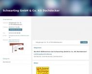 Bild Schwarting GmbH & Co. KG Dachdecker