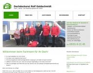 Bild Rolf Goldschmidt Dach-, Wand und Abdichtungstechnik