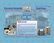 Bild Webseite Kunstschmiede & Stahlbau Jörg Bügelsack Tangerhütte
