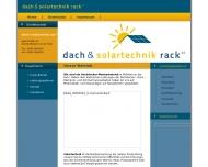 Bild Dachdeckerei Rack GmbH
