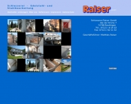 Bild Raiser GmbH Schlosserei