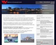 Bild Webseite CTL Container Transport Logistik Bremen