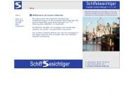 Schiffsbesichtiger Kapit?n Gunter Metzger ?. b. v. SV, Bremen
