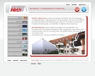 Bild Webseite Wirth Köln